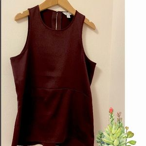 Calvin Klein Blouse. Size: XS. Maroon in colour
